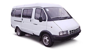 Микроавтобус Газель (13 и 15 мест)