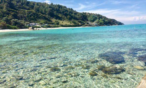 Афитос пляж
